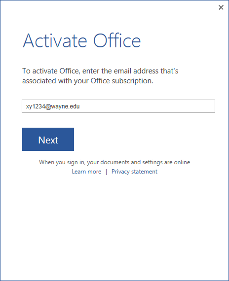 microsoft office free trial key code