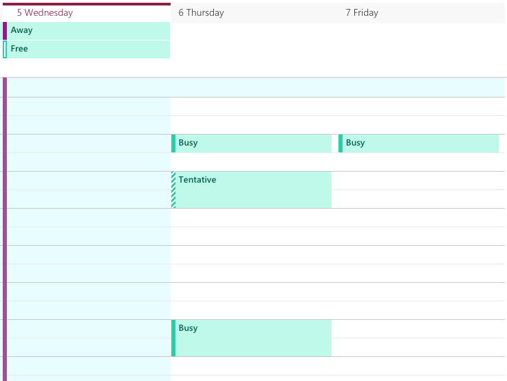 Wayne State Calendar.How Do I Prevent My Calendar Availability From Being Shared By