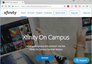Who can use Xfinity on Campus cable streaming at WSU? - Articles