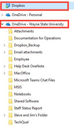 How do I migrate files from DropBox to OneDrive for Business