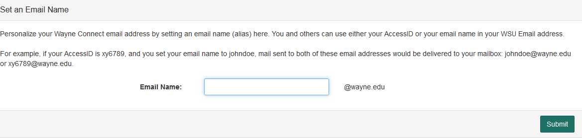 How do I create and use a custom Email Name? - Articles - C&IT