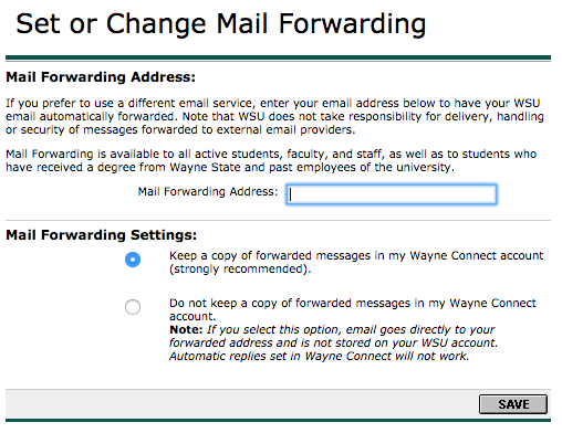Can Wayne State students continue receiving their WSU email